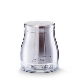 Borcan depozitare ceai 900ml inox Ø11,5x14