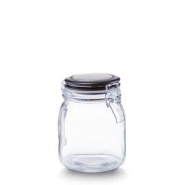 Borcan sticla cu capac 1000 ml
