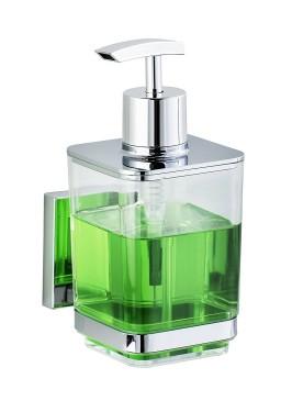 Suport sapun lichid Quadro-din otel inoxidabil