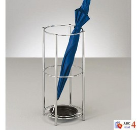 Suport umbrela metal cromat