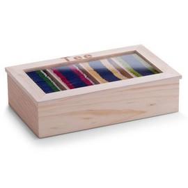Cutie ceai lemn / acryl