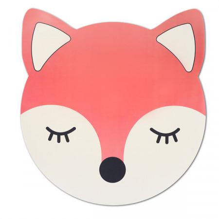Protectie masa pentru copii,model animal, vulpe rosie,Zeller