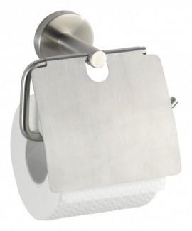Suport hartie igienica cu capac inox Bosio