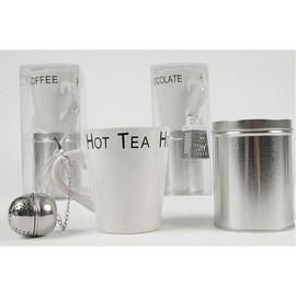Cana ceramica 25cl + cutie pentru ceai