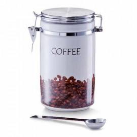 Doza cafea ceramica/inox