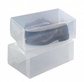 Set 2 cutii depozitare pantofi