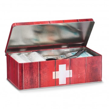 Cutie metalica de medicamente
