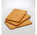 Set 3 tocatoare bambus 22x14x0,8cm