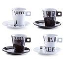Set cappuccino 8 piese portelan