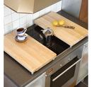 Tocator acoperit plita - lemn 32x56x5,5