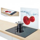 Placa sticla-protectie perete-model TOMATO