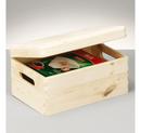 Cutie depozitare lemn cu capac 30x20x14cm