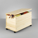 Cutie depozitare jucarii lemn
