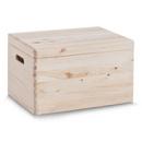 Cutie depozitare lemn + capac 40x30x24 cm