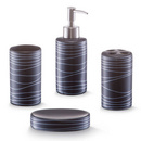 Set accesorii baie ceramica - 4 piese