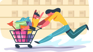Shopping online si 3 motive sa faci si tu asta