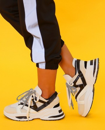 Poze Pantofi Sport VB9881 Bianco