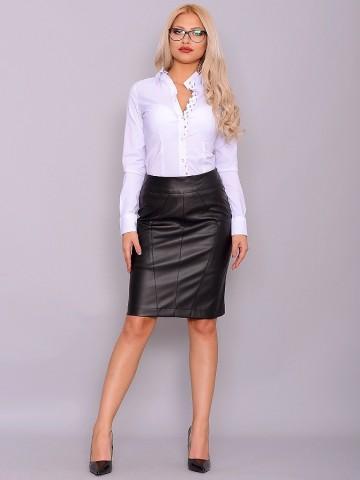 Poze Fusta Leather Joy Black 01