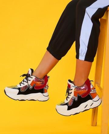 Poze Pantofi Sport Q9XX1194-23 White
