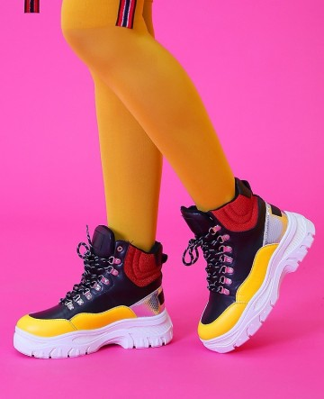 Poze Ghete Sport Y081 Yellow