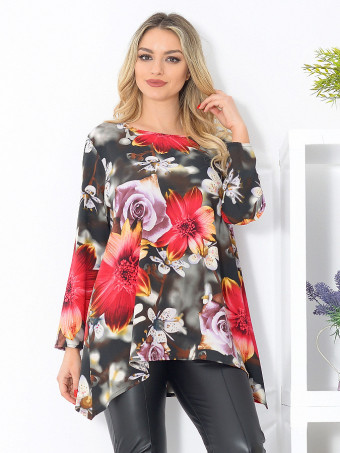 Bluza Dama Masura Mare Floralys 03