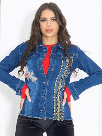 Jacheta Dama Jeans 6198