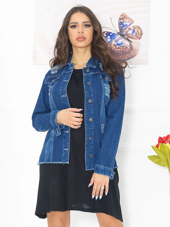 Jacheta Dama Jeans 6199