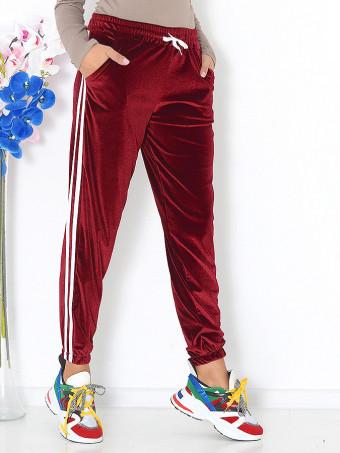 Pantaloni Din Catifea Masura Mare Ivi 05