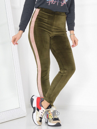 Pantaloni grosi din Catifea Xena 07