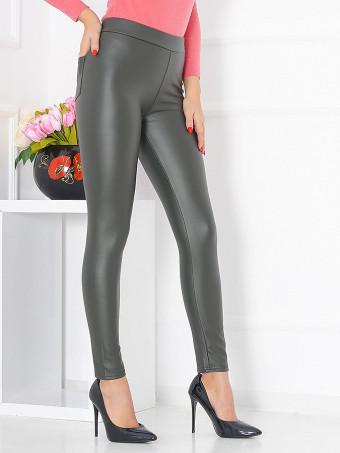 Pantaloni Leather Eco B501-01