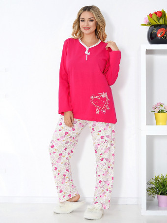 Pijama Dama Baki Hearts 03