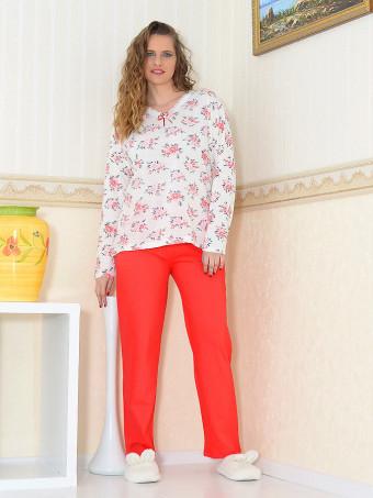 Pijama Dama Masura Mare Floris 09