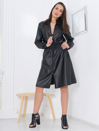 Rochie Leather Vicky