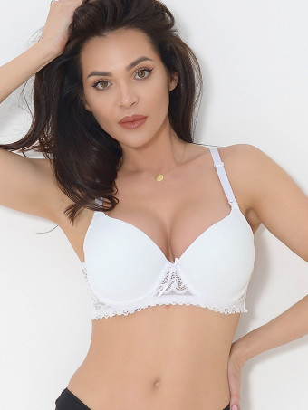 Sutien Push-up Cupa B 2534-02 White