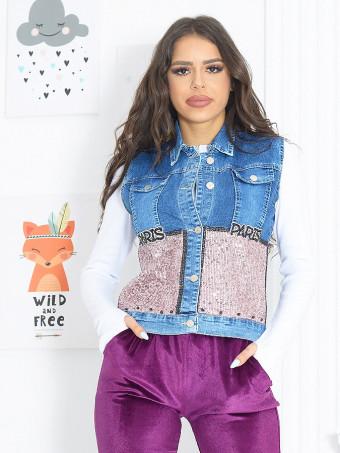 Vesta Dama Jeans 6183