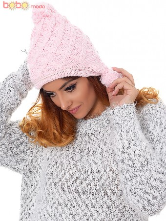 Caciula Dama Everest Pink