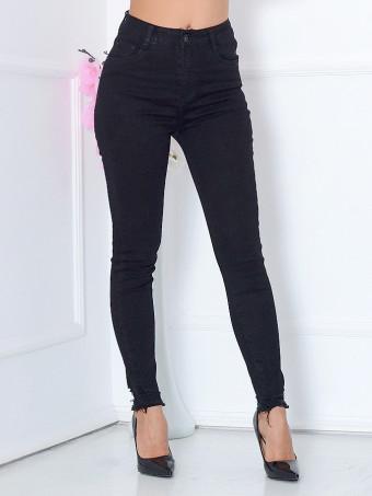 Pantaloni Dama Jeans XP068 Black