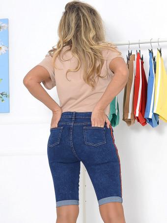 Pantaloni Scurti Jeans Anes 560