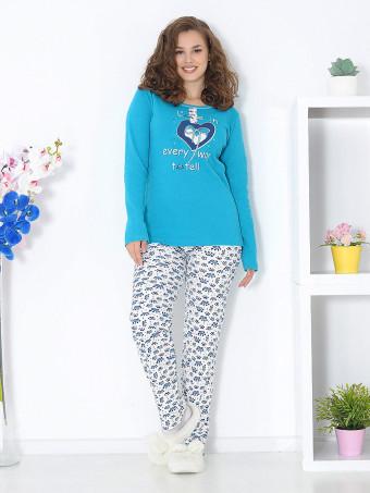 Pijama Groasa Baki 3066-02