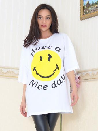 Tricou Masura Mare Smiley 01