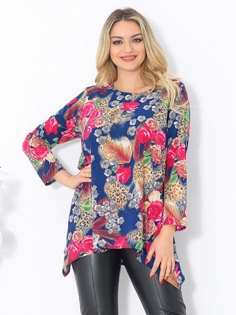 Bluza Dama Masura Mare Floralys 04