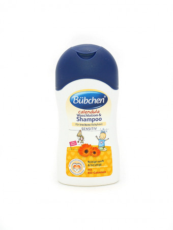 Bubchen Baby Shampoon si Crema de dus 48486, 50 ml