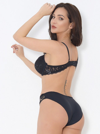 Compleu Sutien Cupa B si Chilot Normal 6635-05