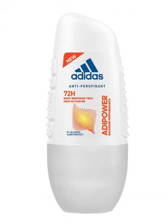 Deodorant Roll On Antiperspirant Adidas Adipower Women 72 H 4801, 50 ml