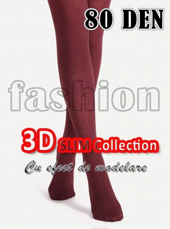 Dres 3D Slim 80 DEN Cherry