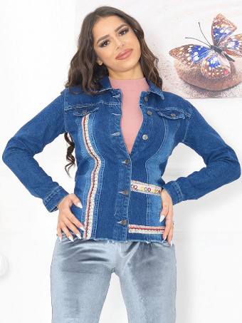 Jacheta Dama Jeans 6201