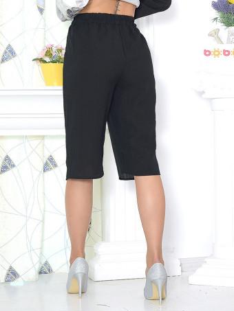 Pantaloni Capri Tina Black 01