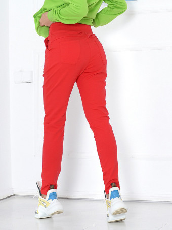 Pantaloni Cu Tur Sport 2794-H612 Red