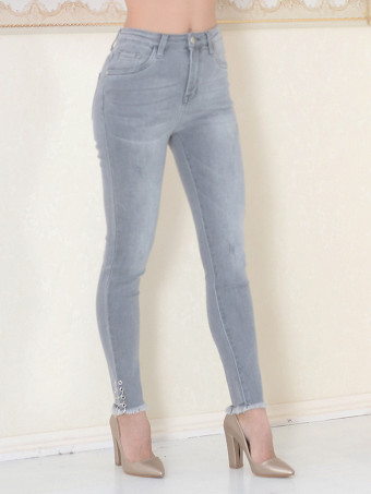 Pantaloni Dama Jeans Masura Mare ZF6152