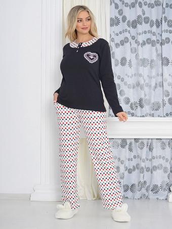 Pijama Dama Baki Dots 01